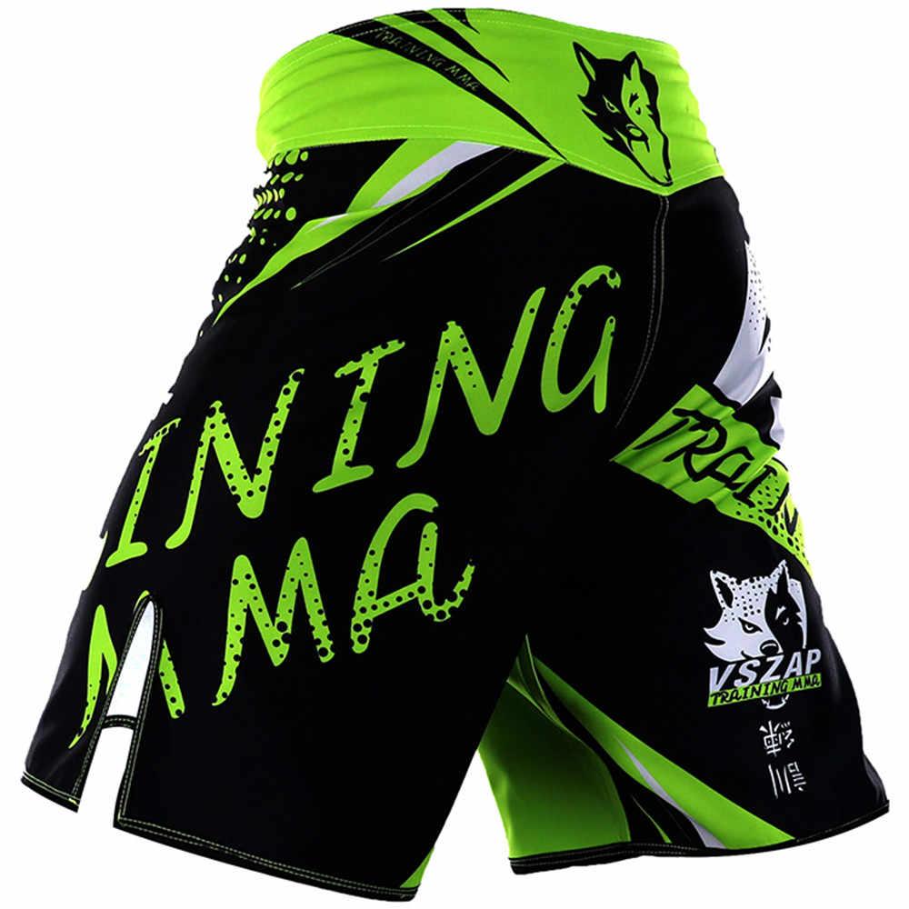 MMA السراويل الرياضية Sanda اللياقة البدنية الملاكمة التايلاندية تصارع الملاكمة جذوع الجري فنون الدفاع عن النفس التدريب القتال Boxeo ركلة هلام