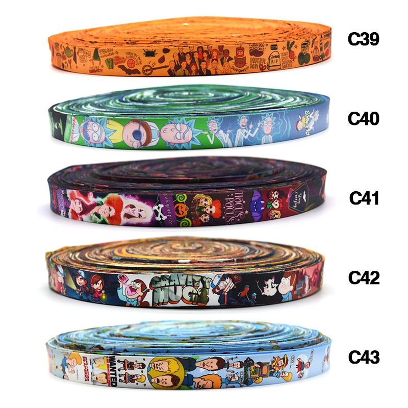 110Yards/Roll Cartoon Multipurpose Hang Rope Creative Hairband Ribbon Animation Personality Accessories Hair Accessories D265