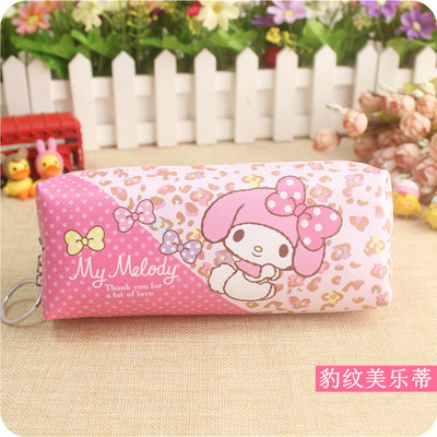 1pc Cute San-x Sumikko Gurashi Stationery Twin Stars My Melody Pencil Case Plush Purse For Girls School Supplies Gifts