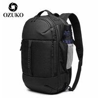 OZUKO 2020 männer Reise Rucksäcke Fit für 15,6 Zoll Laptop Taschen Große Kapazität Bagpack für Mann Wasserdichte Männliche Rucksäcke mochila