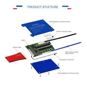 Image 5 - Умная плата системы управления аккумулятором LiFePo4 3,2 в 16S 48 в BMS с балансировкой для аккумуляторного блока скутера не 15S 48 В