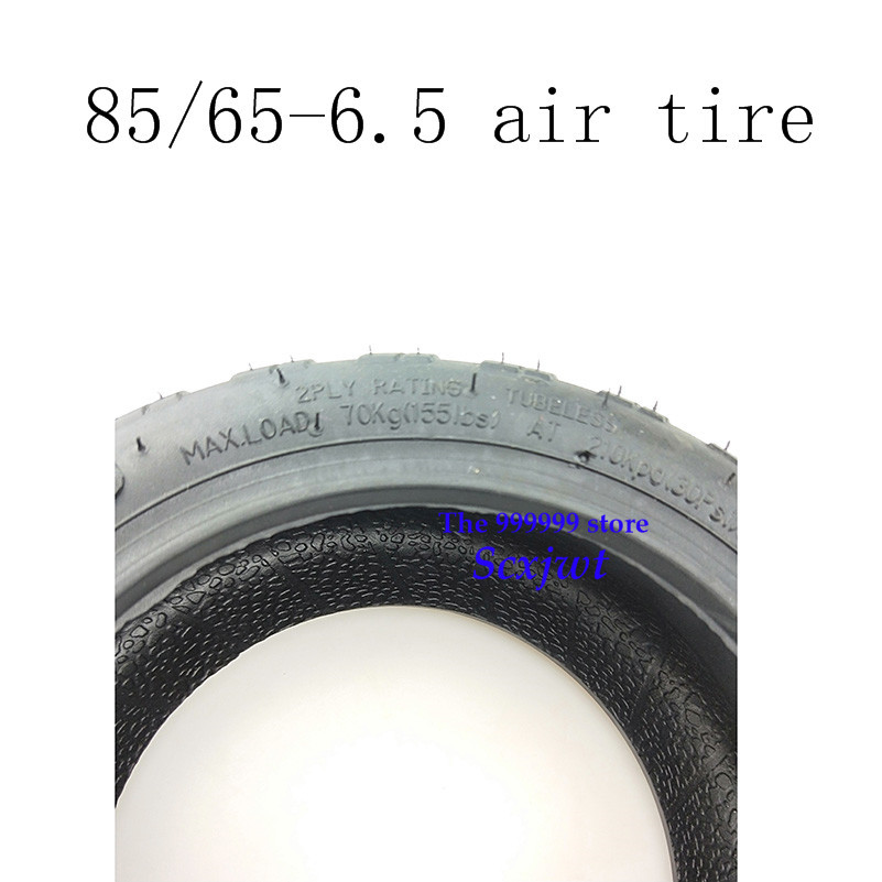 85/65-6.5 Off-Road tire and inner tube for Xiaomi ninebot9 Mini Pro Electric Balance Scooter 10 inch Electric scooter tyre image