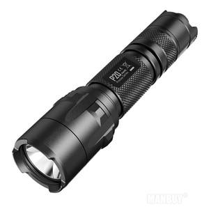 Image 3 - Indirim NITECORE P20 P20UV taktik LED el feneri su geçirmez açık kamp avı taşınabilir NTL10 + NTH30B + 2300mah pil paketi