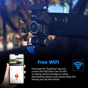 Image 4 - Mini ukryty 4K 2160P podwójny obiektyw samochodowy DVR WIFI GPS rejestrator Novatek 96663 Chip Sony IMX323 czujnik podwójny aparat wideorejestrator samochodowy D20