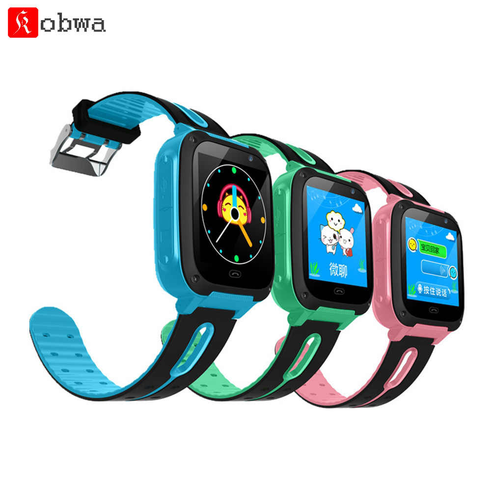 Children's Smart Watch Kids Smart Phone Waterproof Touch Screen LBS Location Tracker Anti-Lost Monitor Camera Photo Safe Protect
