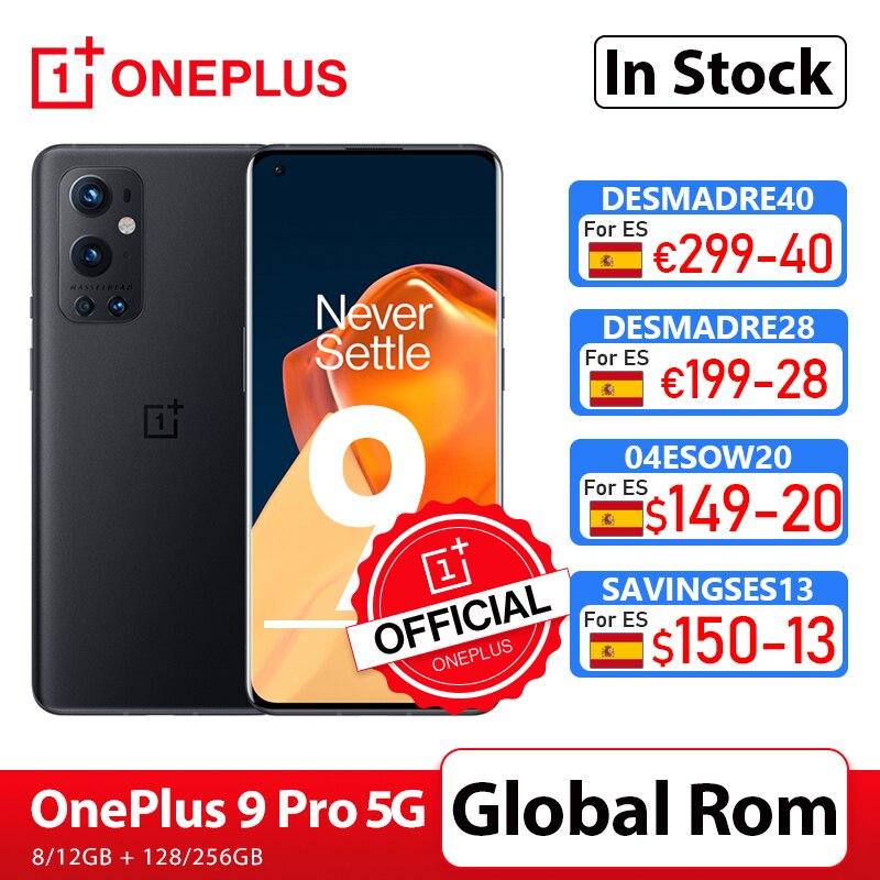 Чехол из ПВХ для OnePlus 9 Pro 5G смартфон 8 ГБ 128 Snapdragon 888 120 Гц жидкости Дисплей 2,0 Hasselblad 50MP ультра-широкий OnePlus официального магазина Carter's; код:P3XCNVAQ(...