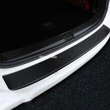 Interior exterior porta traseira tronco placa do peitoril pára protetor capa guarnição acessórios para vw volkswagen golf 7 estilo do carro