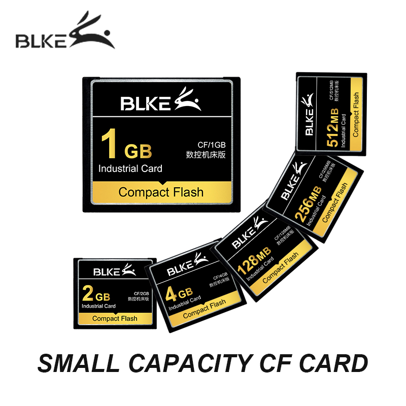 BLKE CF Card 128M 256M 512MB 1G 2GB 4G Compact Flash Card Memory Card For Machining Center Fanuc Mitsubishi M70 CNC Machine Tool