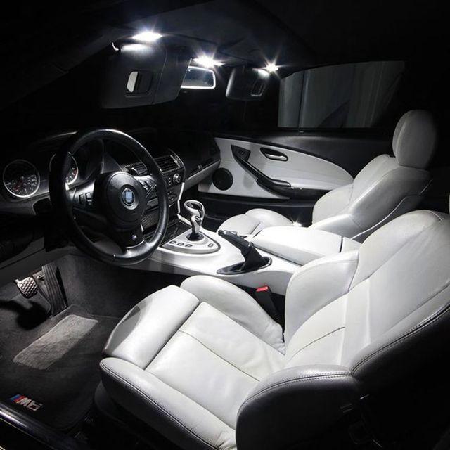 Edislight 17Pcs Canbus No Error LED Lamp Car Bulb Interior Package Kit For 2007-2015 Cadillac Escalade Map Dome Door Plate Light 3