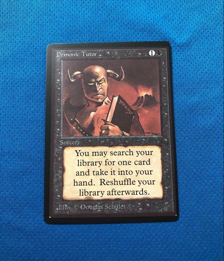 Demonic TutorBeta Magician ProxyKing 8.0 VIP The Proxy Cards To Gathering Every Single Mg Card.