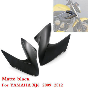 Matte black Front Right Side Injection Fairings Panels Cover For Yamaha XJ6 2009 - 2012 2011 2010 Motorcycle Accessories