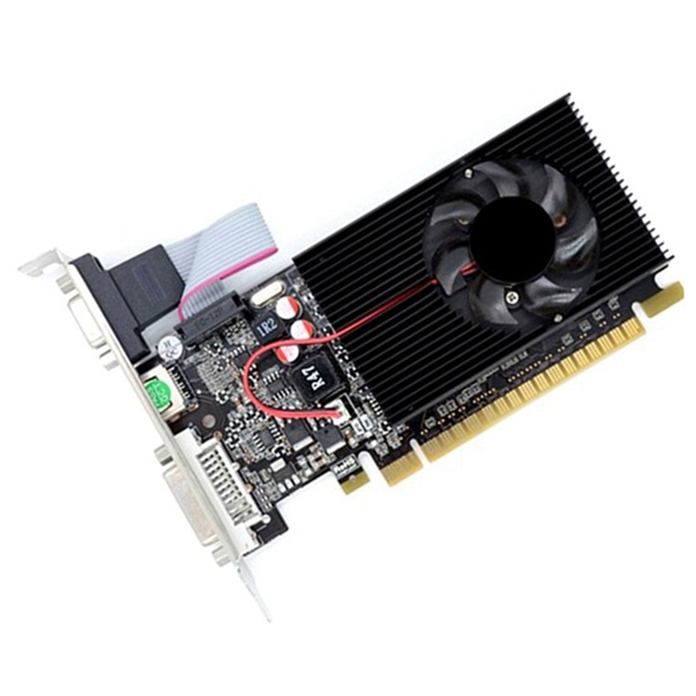 GT730 2G Graphics Card 64-Bit D3 Game Video Card Server Half-Height Graphics Card for Geforce Dvi VGA Video Card 1