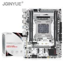 Jginyue x99 placa-mãe lga 2011-3 suporte ddr4 ram xeon e5 v3 & v4 processador sata pci-e m.2 nvme slot x99m mais placas-mãe d4