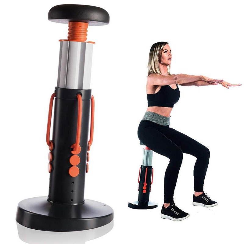 2019 Squat Magic Adjustable Height Gym Workout Sculpt Butt Core Legs Thighs Exercise Machine Weighted Base As Seen On TV