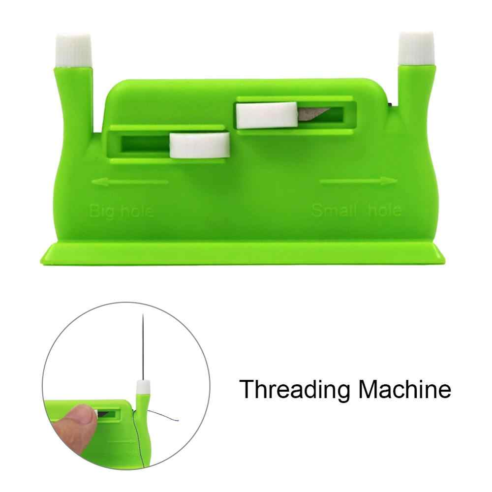 Needle Threader Stitch Crafts Insertion Tool Sewing Handheld Machine Accessories