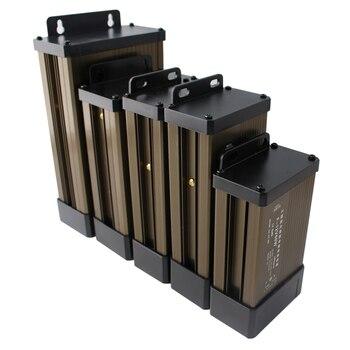 цена на Power Supply 5 12 24 V Volt Switching AC DC 5v 12V 24V Power Supply 5A 8A 10A 15A 20A 220V TO 5V 12V 24V Outdoor Rainproof SMPS