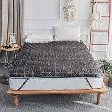 VESCOVO одиночный напольный татами массажный матрас Топпер мягкая кровать Топпер полная королева colchon