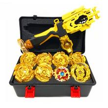 Golden Arean – ensemble de gyroscopes à Fusion métallique avec lanceur, jouets pour enfants, B145/B144/B142/B140/B139