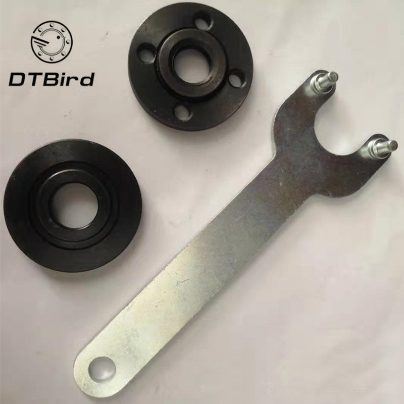 Quality Angle Grinder Spanner Wrench & Flange Nuts Tool Set For Replacing Discs