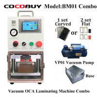 BM01 Vakuum Laminieren Maschine für iPhone Smausung Laminat Glas mit OCA Polarisator LCD Laminator Reparatur Werkzeug