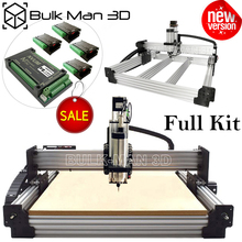 Full-Kit Milling-Cutter Cnc-Machine Diy Cnc Engraving Tingle Workbee Newest with Tension-System