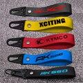 Motorrad 3D Schlüssel Halter Kette Keychain für KYMCO XCITING 250 300 500 400 K-XCT CENTRO 125/200/300/350 AK 550 Motocross
