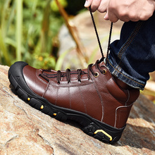 Super Warm Men Ankle Boots *9009 Winter Men Boots High Quali