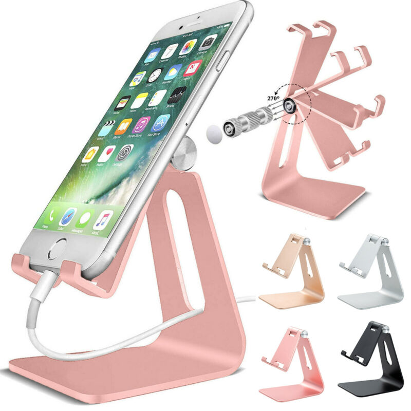 Cell Phone Tablet Switch Stand Desk Table Holder Cradle Dock Adjustable Cell Phone Switch Stand For Huawei IPhone Samsung