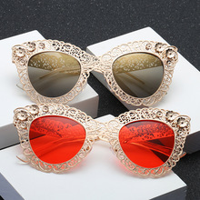 2020 Luxury Oversized Flower Cat Eye Sunglasses