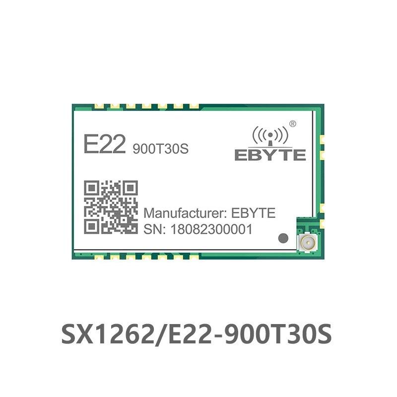 E22-900T30S SX1262 1W UART LoRa TCXO 915mhz Module Wireless Module 868MHz Long Range IoT SMD IPEX Interface Transmitter