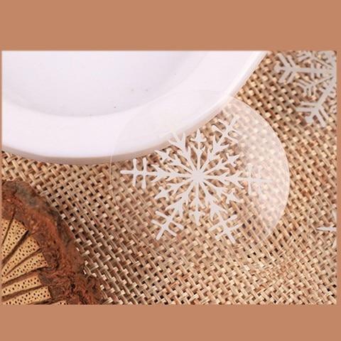 cozimento biscoito saco decorativo selo sticke