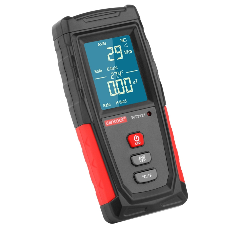 Image 4 - Portable Electromagnetic Radiation Detector Digital Electric Magnetic Field EMF Tester Computer Phone Radiation Survey Indicator-in Electromagnetic Radiation Detectors from Tools
