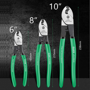 """Image 3 - LAOA Cable Cutter Wire Cutting Hand Tools for Professional Electricians  6""""/8""""10"""" Cable Stripping Pliers"""