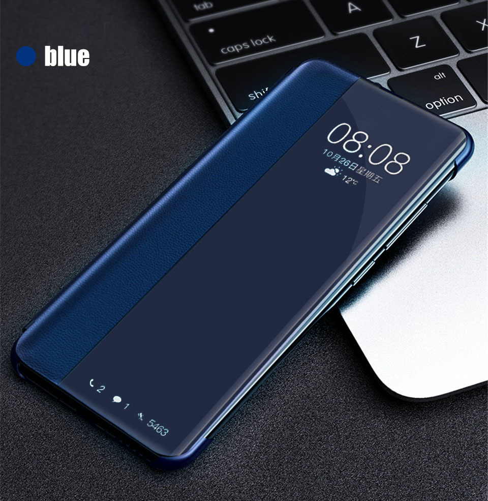 smart window pu leather flip case for <font><b>sansung</b></font> samsung galaxy a10 2019 cover protective coque a50 a30 a40 <font><b>a20</b></font> a70 a 50 30 fundas image