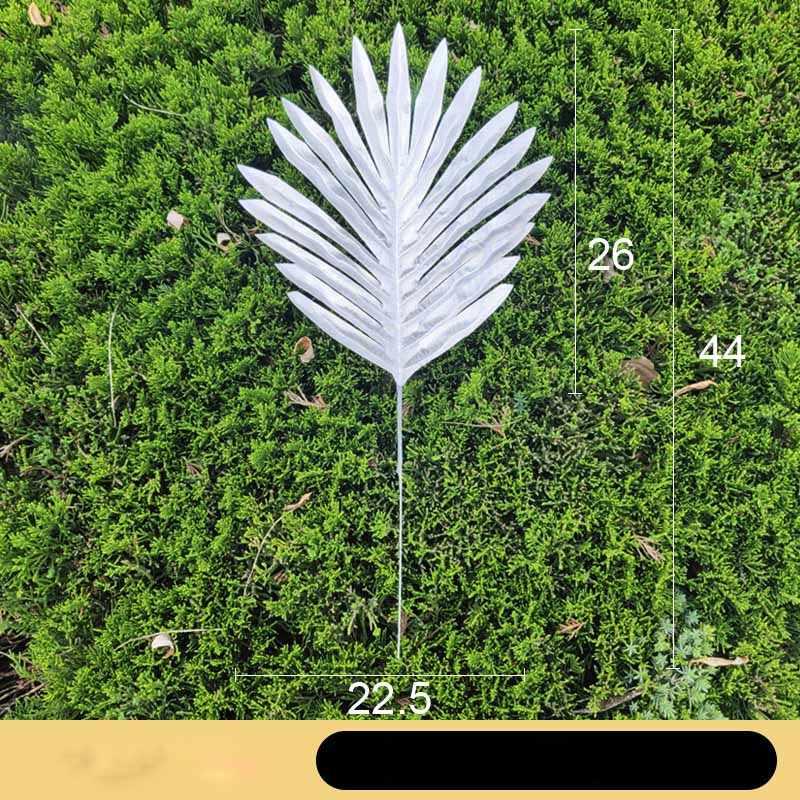 1 шт. домашний сад украшенный свободный хвост Подсолнух искусственные декоративные растения поддельные Папоротник Зеленый лист Дерево завод