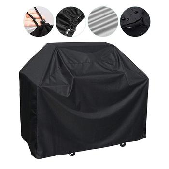 Grill Cover Dust Proof Outdoor Garden Patio Furniture Barbecue Grill Protective Cover Anti Dust Rain BBQ Accessories Grill Cover image