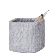 Mini Small Fabric Storage Pen Holder Office and School Desktop Decoration Cloth Storage Box