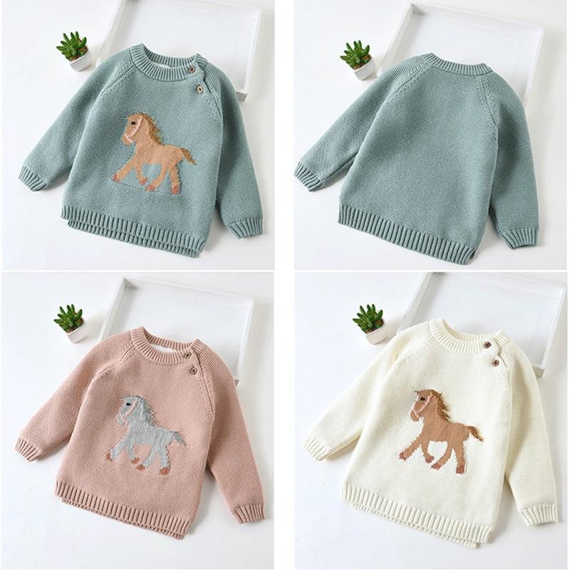 Kids Warm Wool Sweater
