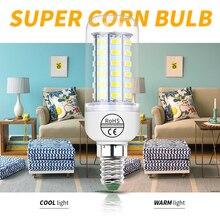 220V E27 Led Lamp E14 Led Corn Bulb Candle GU10 LED Light Bulb 24 36 48 56 69 72 Lampada Led B22 SMD5730 Люстра Освещение G9