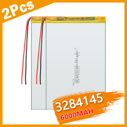 3284145 3.7v 6000mAH polymer lithium ion battery Li-ion battery for tablet pc 9.7 inch 10.1 inch speaker Replace 3085145 Bateria