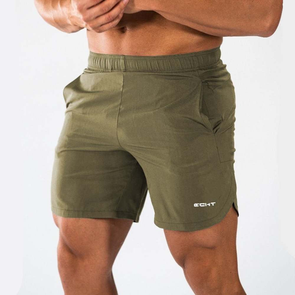 Bodybuilding Skinny Shorts Men Gyms Fitness Short Pants Male Jogger Sporty Workout Bermuda Summer Casual Quick Dry Beach Shorts