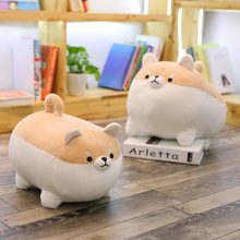 40cm Cute Shiba Inu Dog Plush Toy Stuffed Soft Animal Corgi Chai Pillow