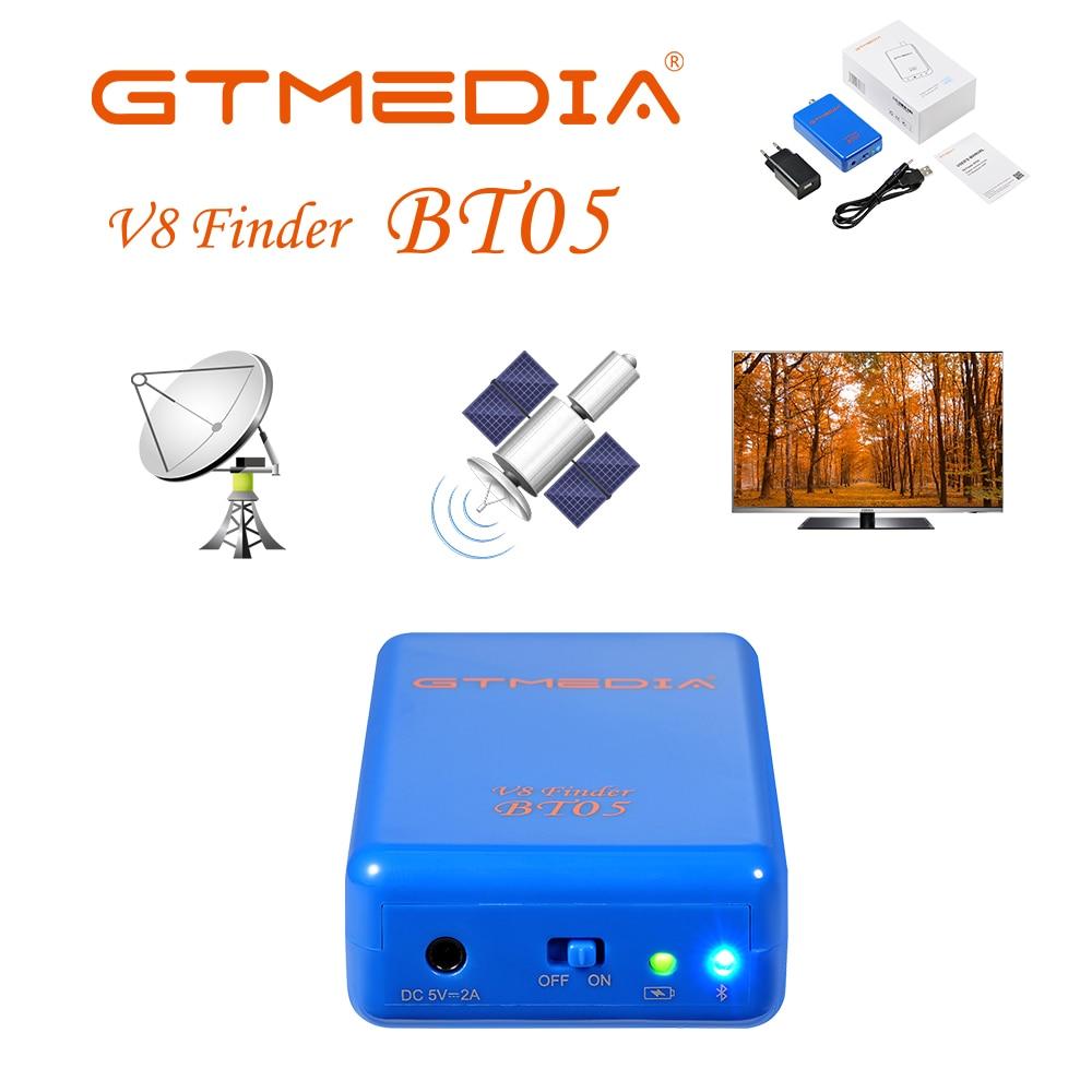 BT05 HD Digital Satellite Finder Combo Support DVB S2 Sat Finder Meter For Satellite TV Receiver Tuner LNB Short Circuit Prompt