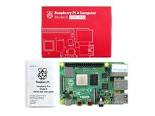 Ahududu Pi 4 Model B. Rev1.2 4GB RAM 64 bit 1.5GHz dört çekirdekli Gigabit Ethernet Bluetooth 5.0 USB tipi C güç tedarik