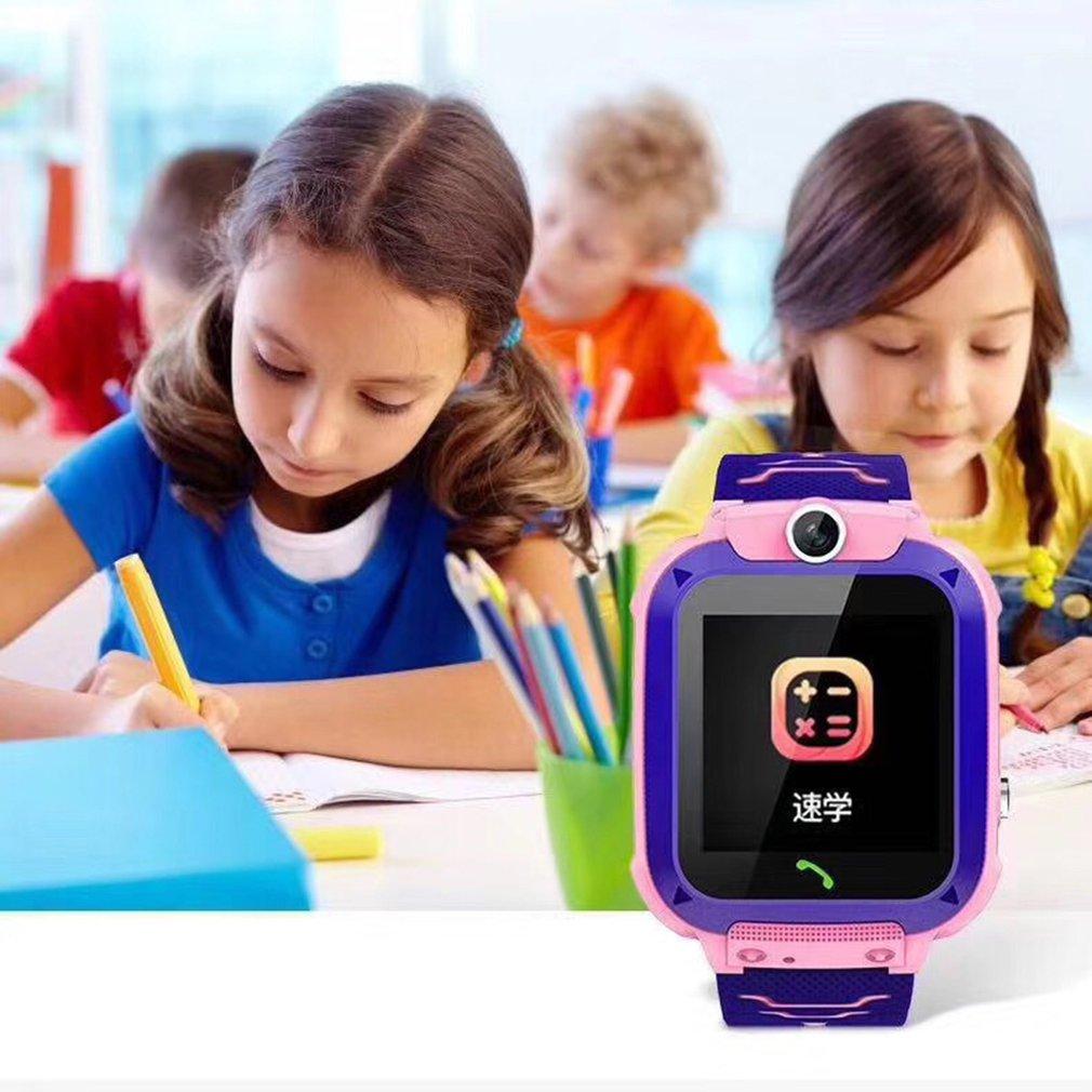 Q12 crianças relógios sos antil-lost smartwatch ip67