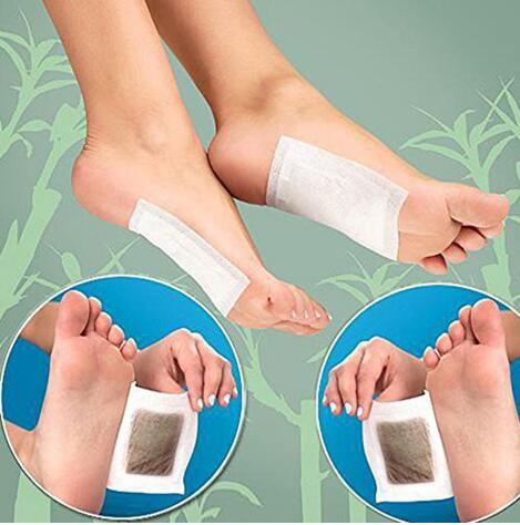 10pcs Slimming Foot Patches Detox Foot Patch With Sticky Cloth Remove Toxin Foot Help Sleep Skin Care Pad