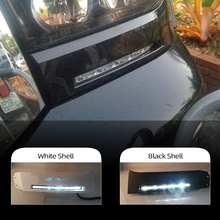 1 paar Auto Front Stoßstange Lichter 12V LED Tagfahrlicht DRL nebel lampe Für Toyota Tundra 2007 2008 2009 2010 2011 2012 2013