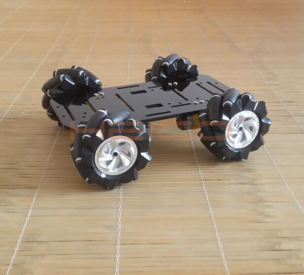 omnidirecional movel diy brinquedo robo 04