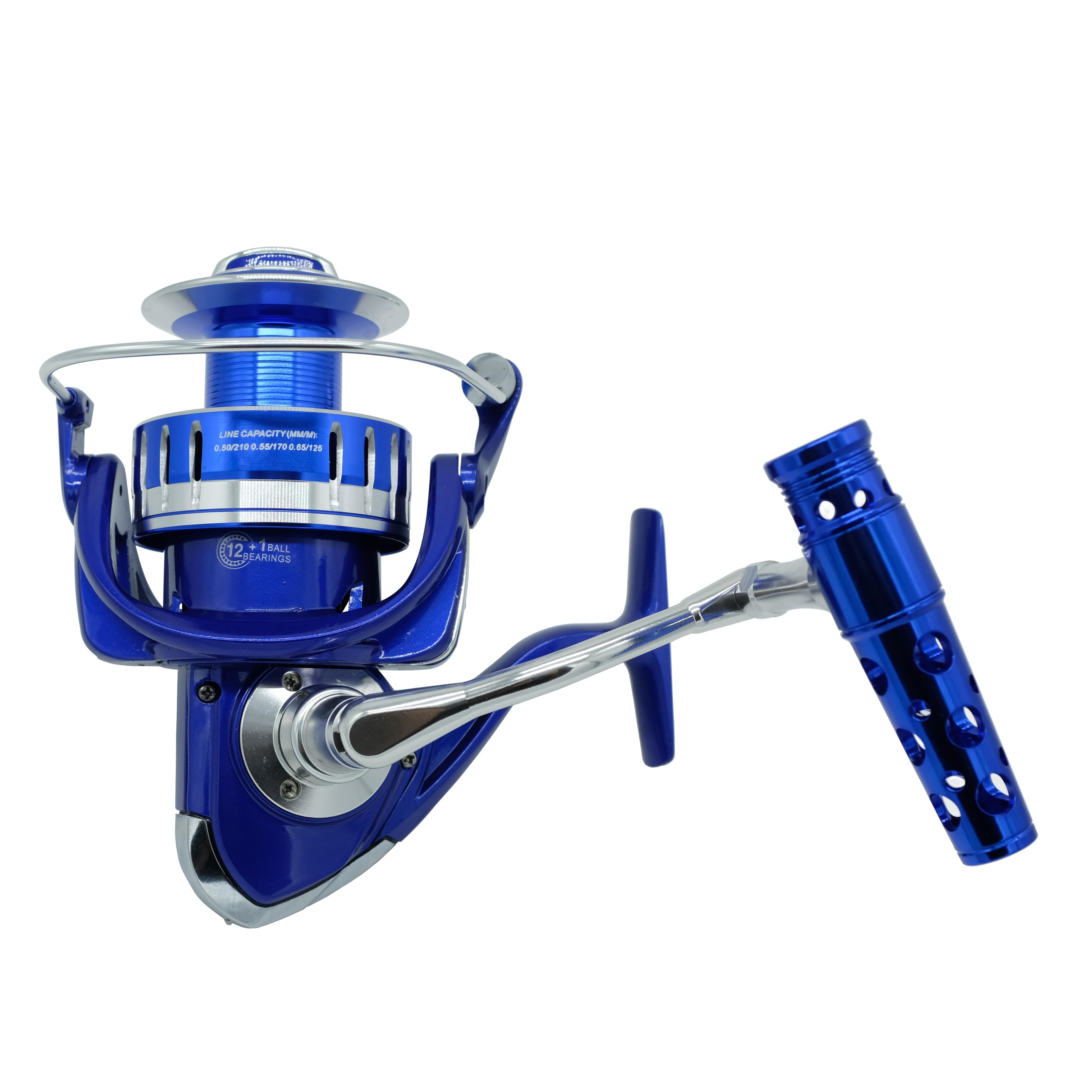 HiUmi Max 40KG Power Drag Saltiga Spinning Reels Heavy Duty Jigging Fishing Reel