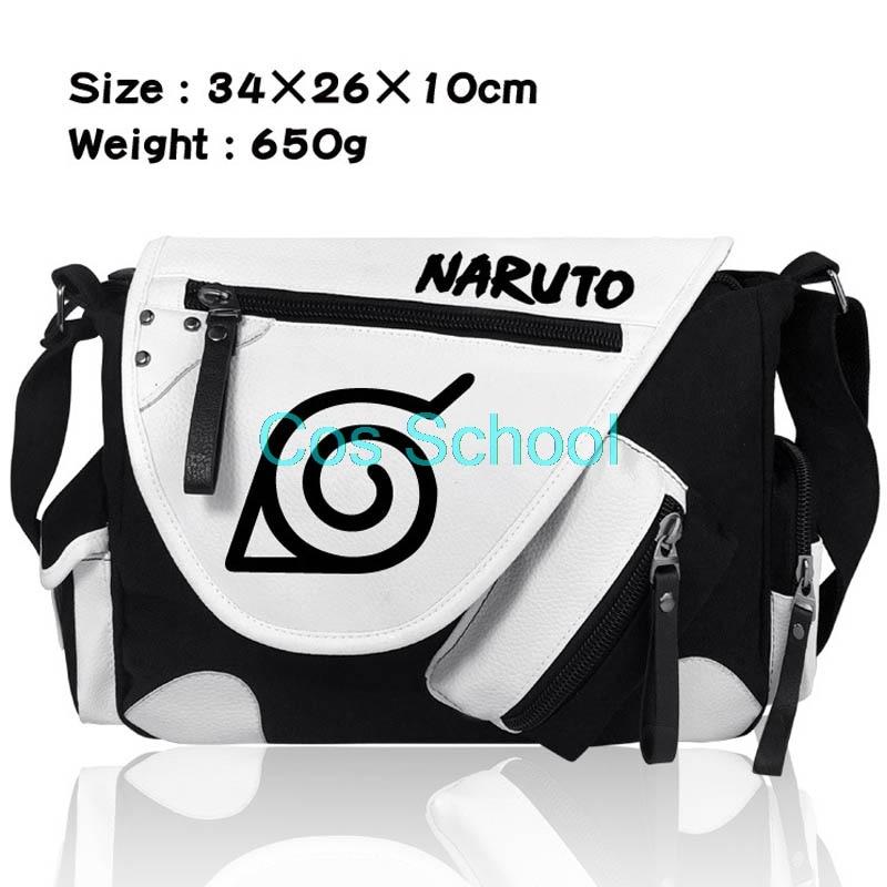 Uzumaki Naruto Sasuke Itachi Cosplay Backpack Laptop Travel School Bag Rucksack